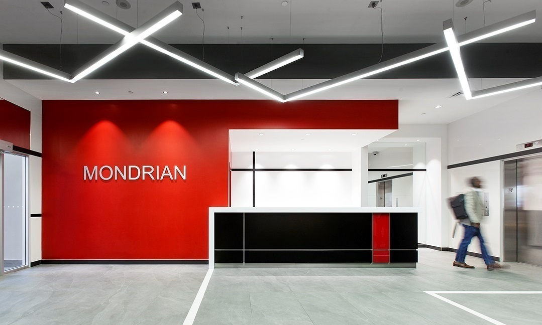 The Mondrian Lobby Renovation