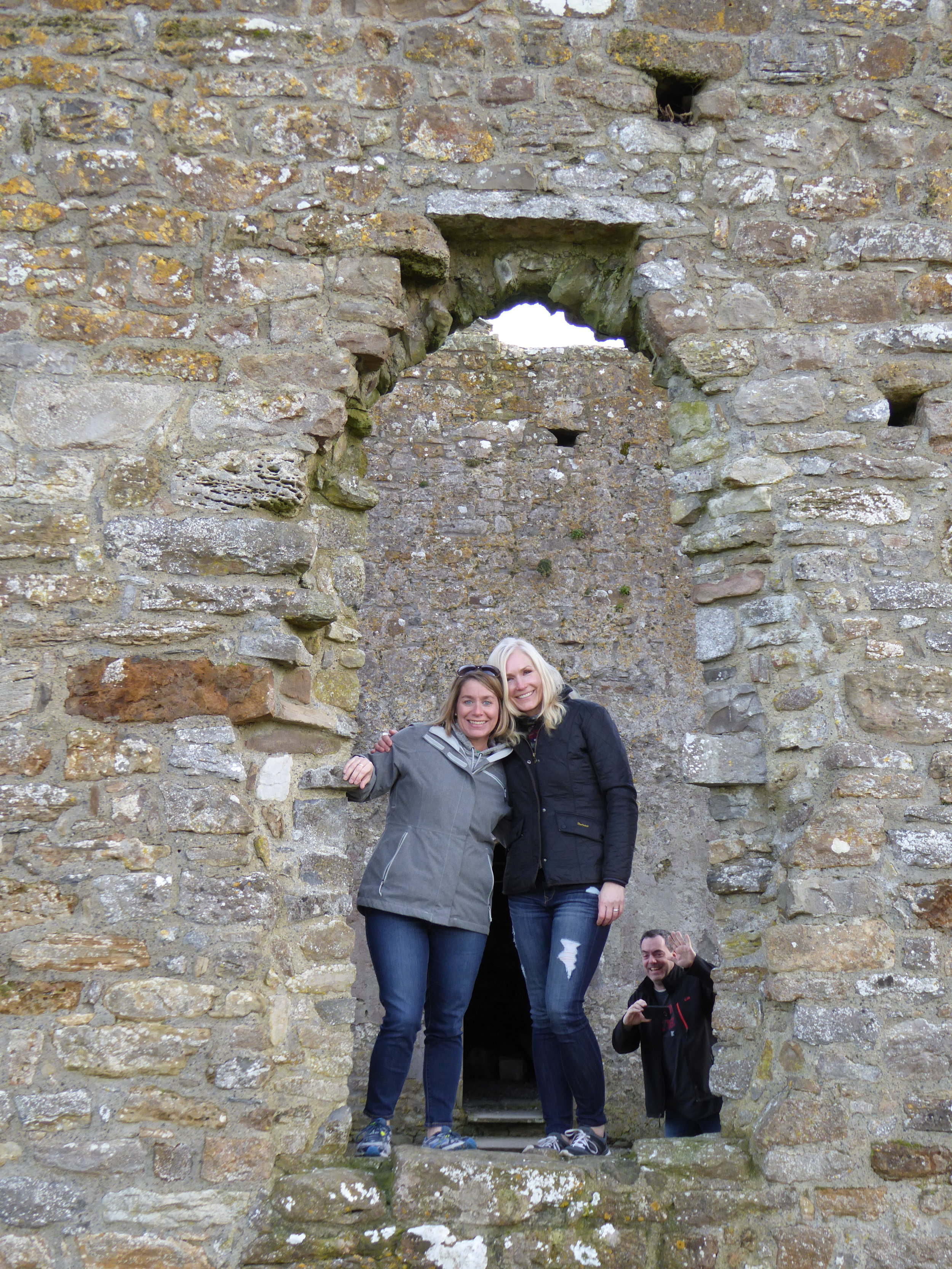 Murphy and me, Clonmacnoise
