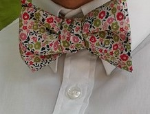 Oh yeah. His tie was floral.