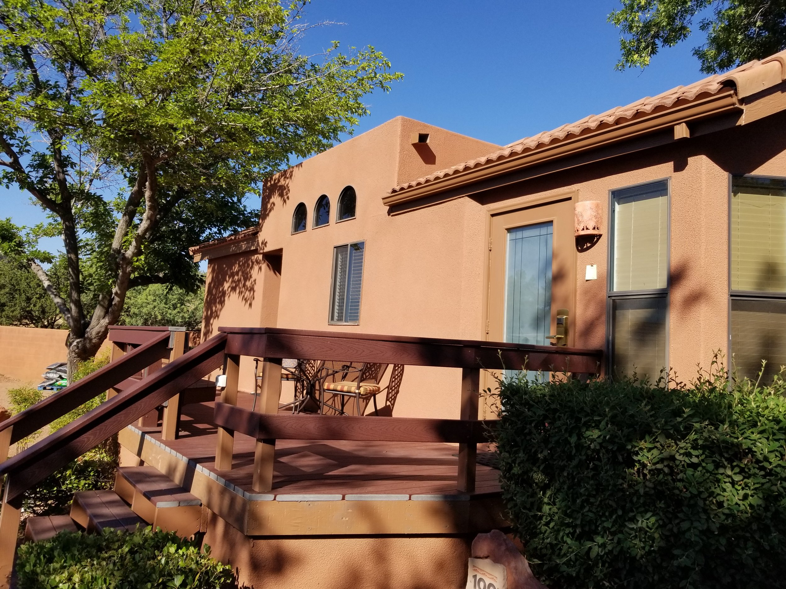 A unit at Sedona Pines Resort