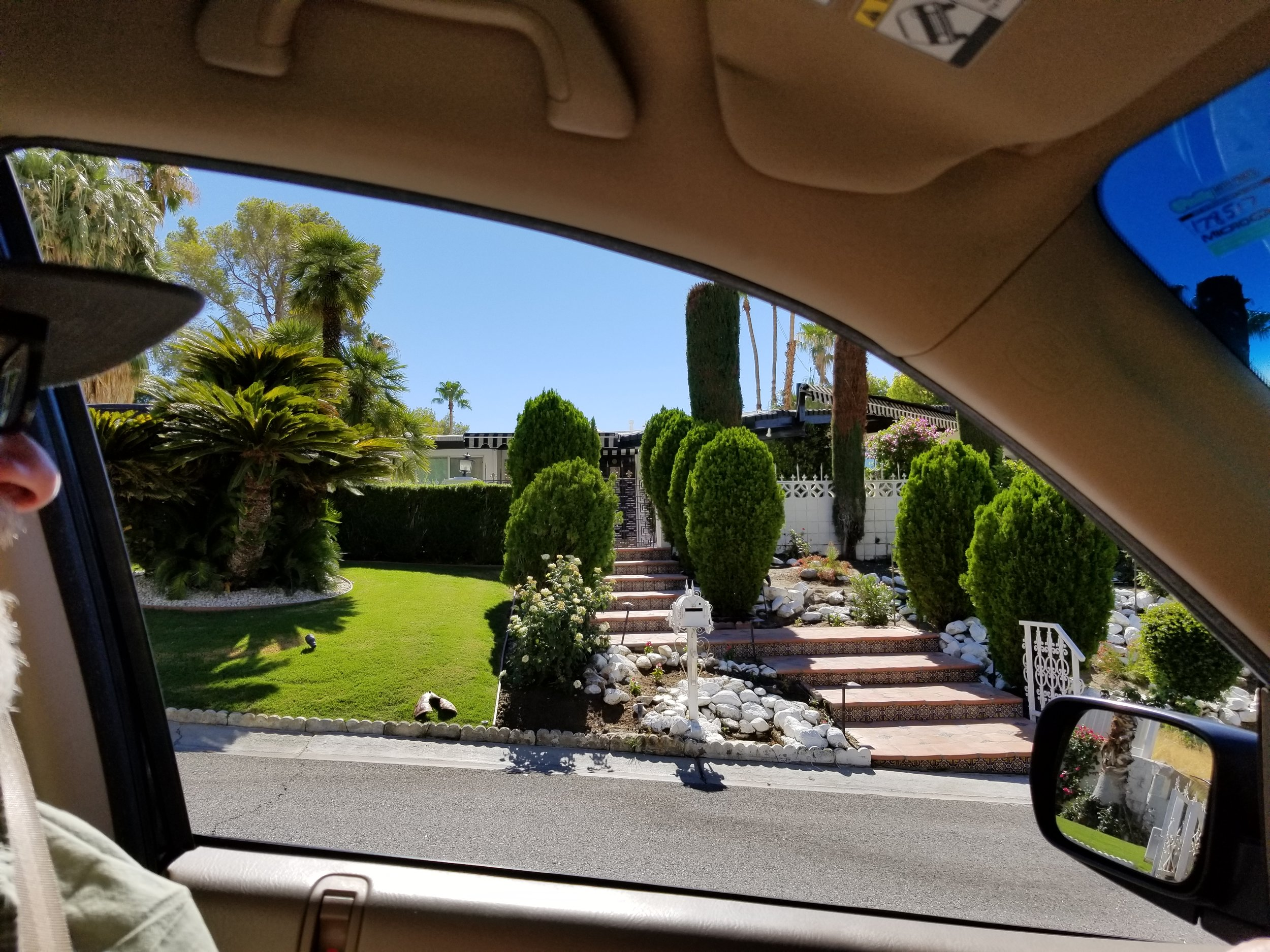 Marilyn Monroe's place, 1326 Rose Avenue, Palm Springs, California