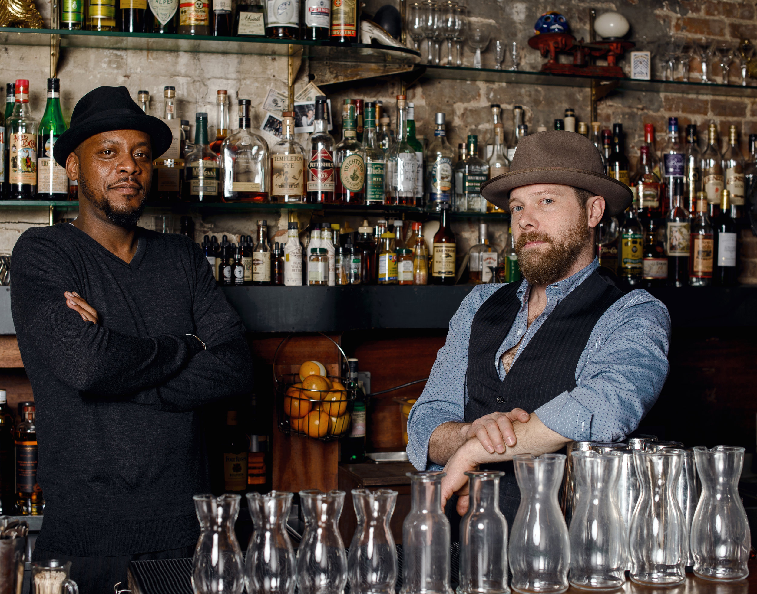 James and Johnny / Owners of Featherweight bar + Sally Roots restaurant