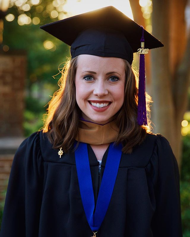 Today, my gorgeous and genius wife graduated with her MBA in Finance from UNA. I'm so proud of you, Caroline. You're an inspiration, a role model, and someone that never quits. I'm in love with you!! Thank you for being my wife. 😘 #sweetcaroline