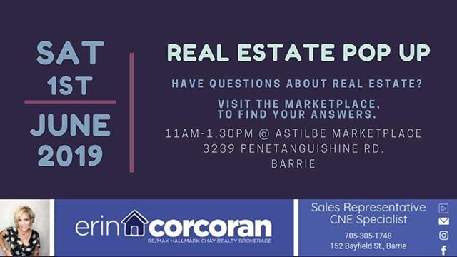 Looking for a new home ?  Selling your home ?  Interested in knowing market details & home preparation for selling?  Stop by Astilbe this Saturday 11-1:30 with @simcoecountyshoplocal @erin_corcoran_remax  The lady who knows the Market !! ♡♡ Light snacks,  tea & coffee in house