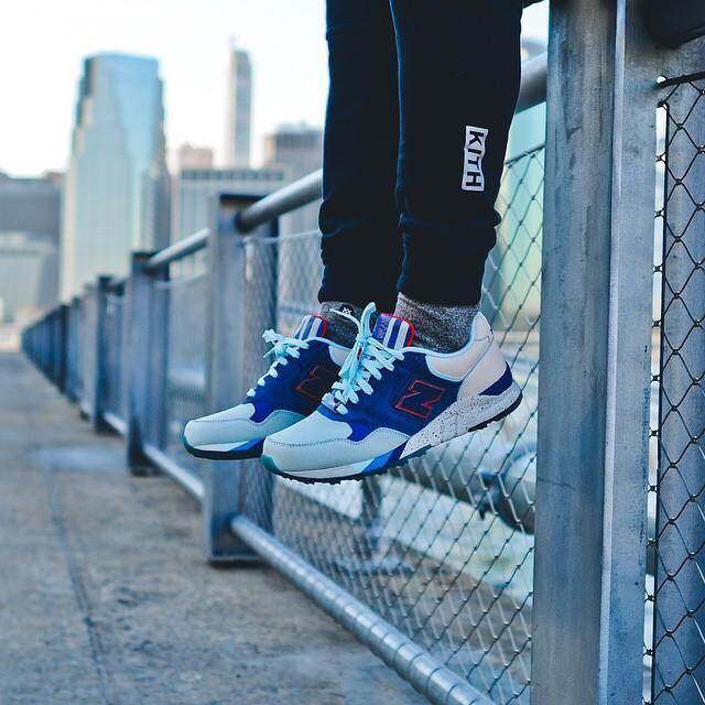 """Today we got no only our first full look of the RF x NB 850 """"Central Park"""", but an on-foot look of the sneakers as well."""
