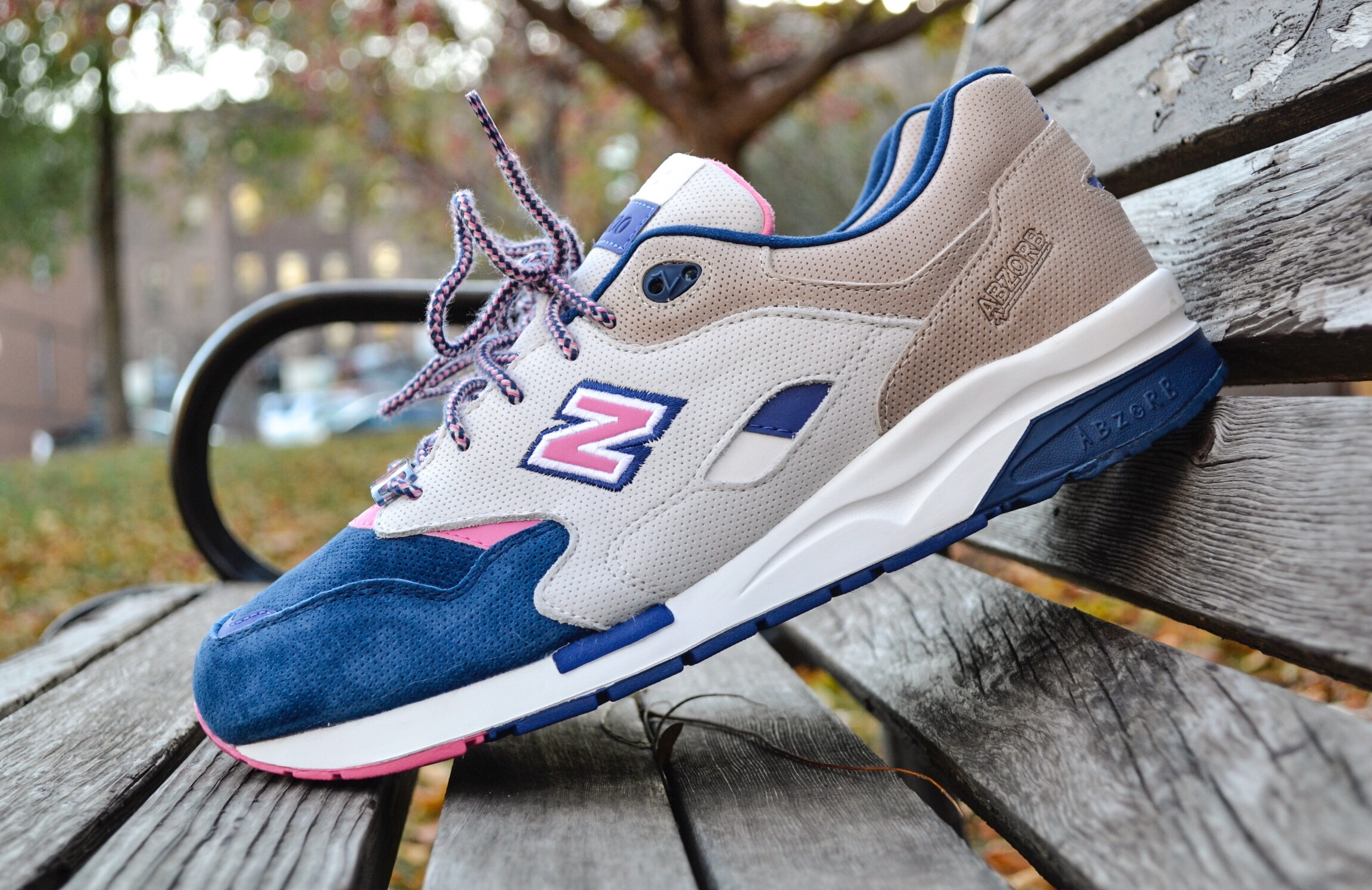 """The Ronnie Fieg x New Balance 1600 """"Daytona"""" uses a combination of plush suedes and leathers along with reflective 3M hits to make this sneaker a must have for sneakerheads last year on Black Friday."""