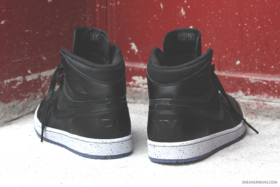 Alook at the result fromfirst time the teams at PSNY and Jordan joined forces. The Friends and Family version of the Public School NYC x Air Jordan 1 is slightly different than the version released through the Flight 23 Jordan Brand Store in NYC