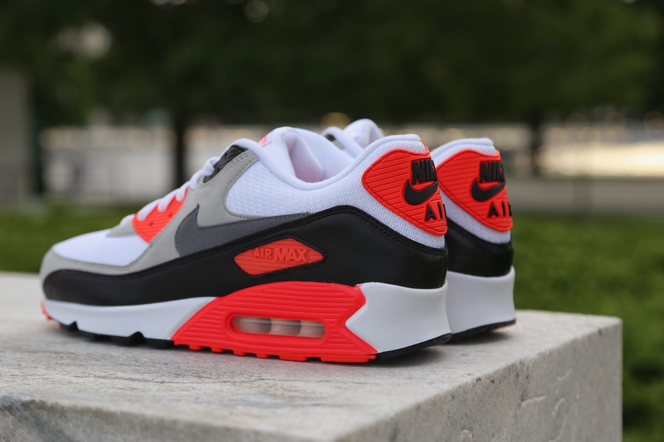Nike brought back the cult-classic,Infrared Air Max 90 with a limited release taking place back on May 28th.
