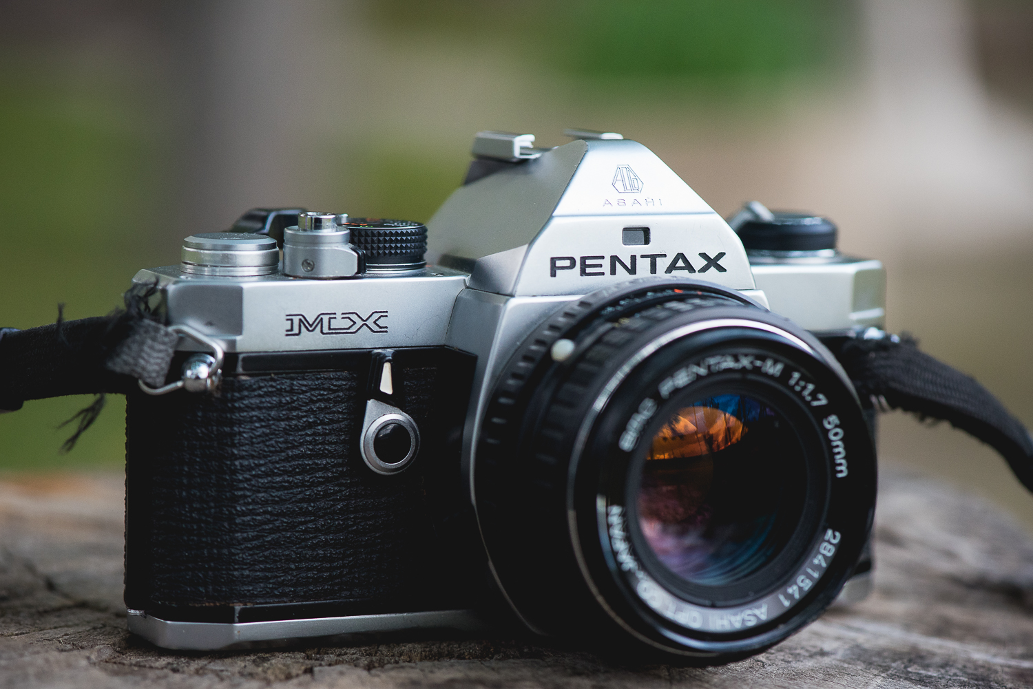 Pentax MX from 70's with 50 f1,7