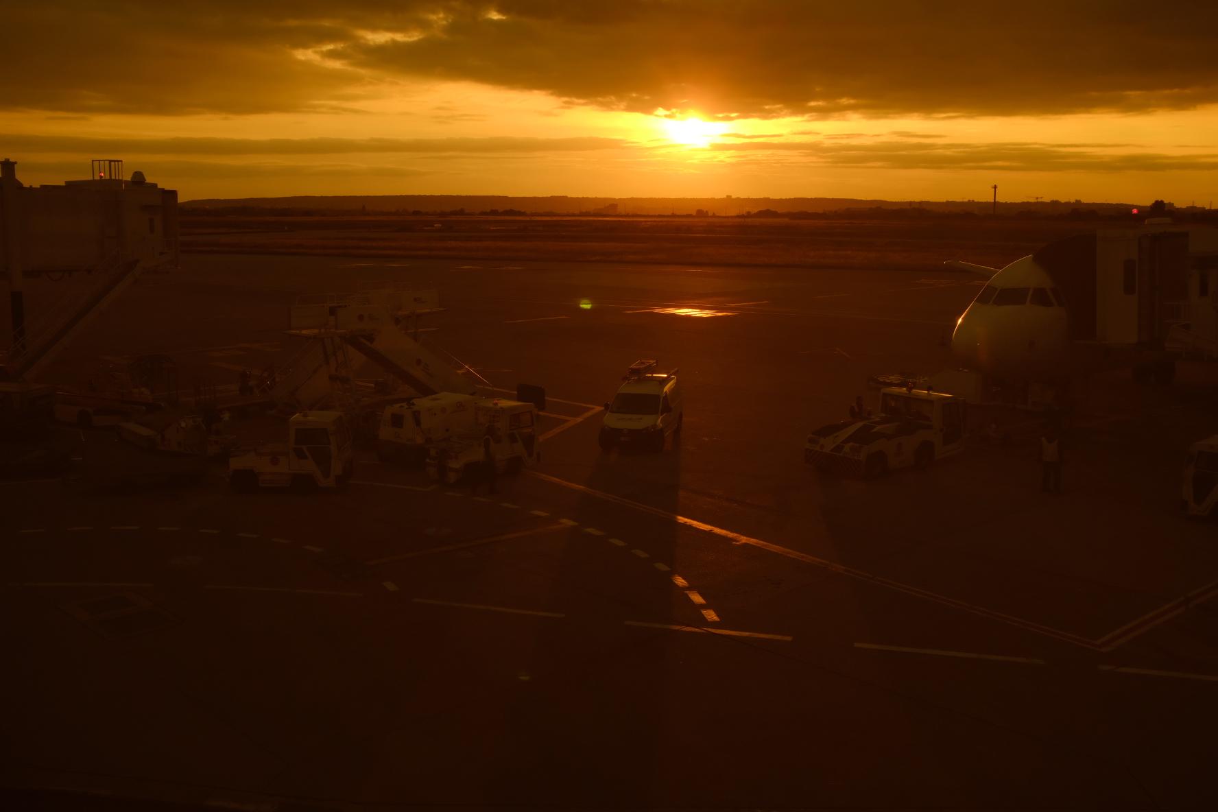 Aeropuerto de Orly - Vuelta a casa