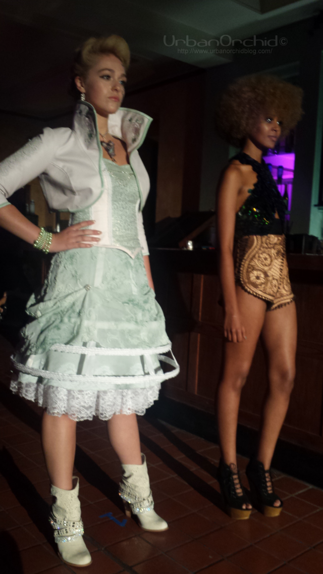 Looks by Kelly Keene and Danielle Everine.