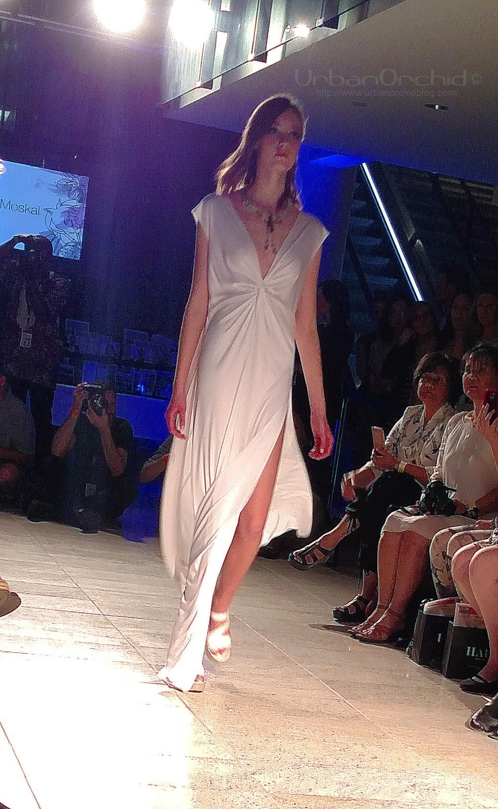 Goddess-y dress by George Moskal