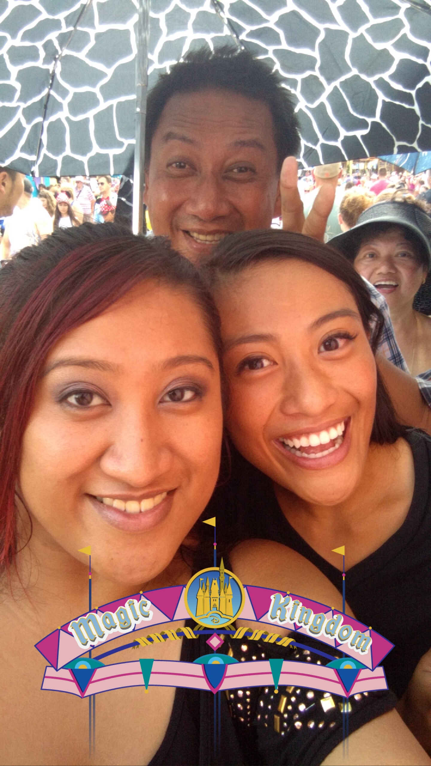 """Waiting in line for """"It's A Small World"""""""