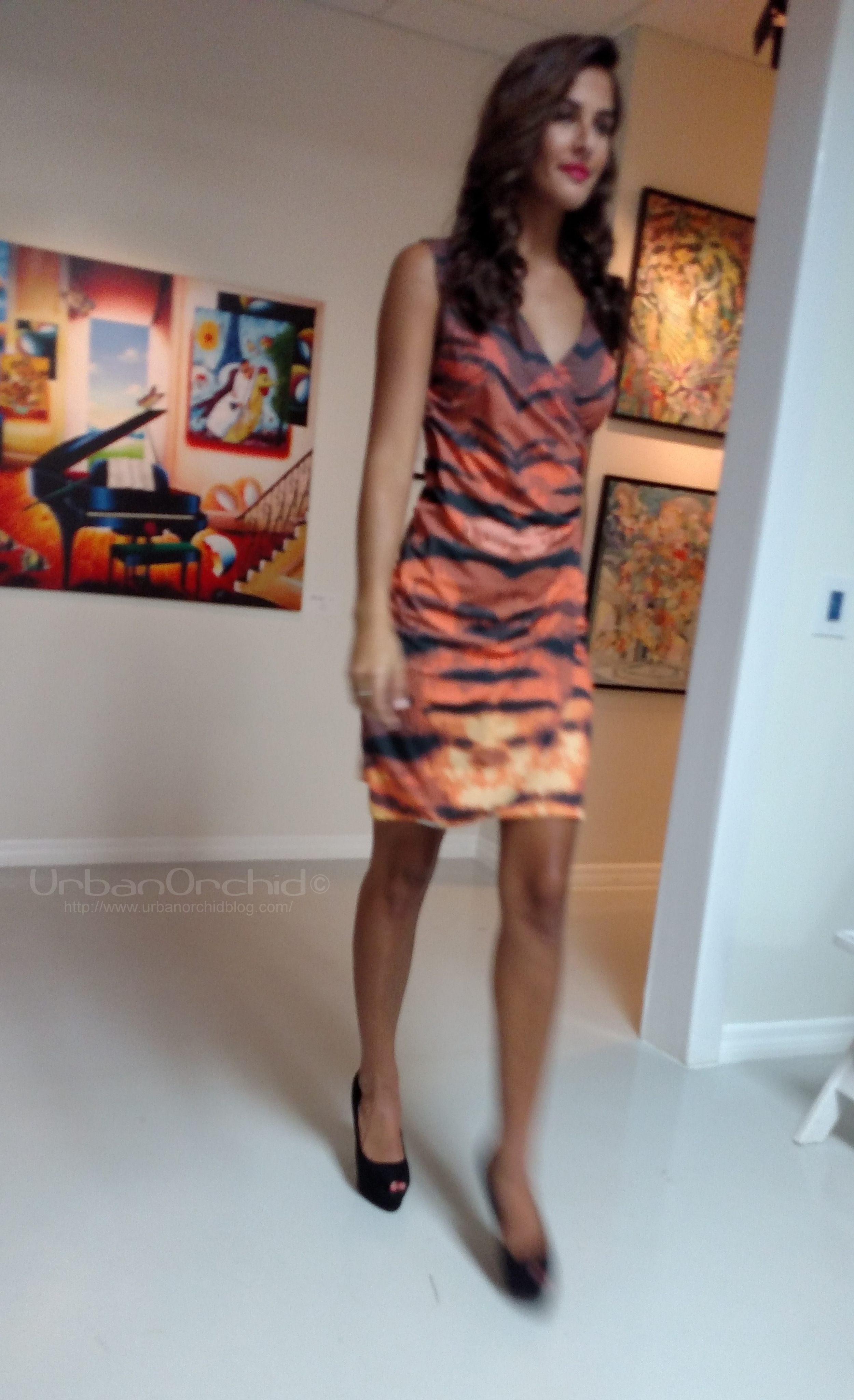 Carrie wrap dress from the Animal Collection - http://shop.strawberryblondeclothing.com/The-Carrie-Dress-Animal-Collection-56.htm