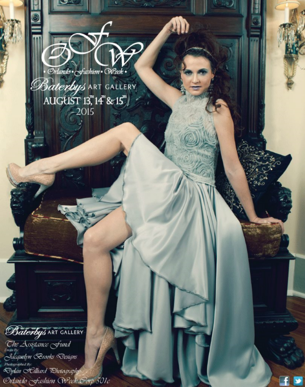Promo poster by  Orlando Fashion Week Corp .