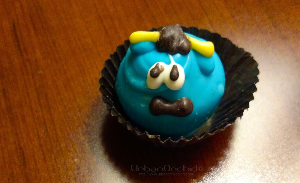 Babe the Blue Ox truffle from  Chocolates Plus