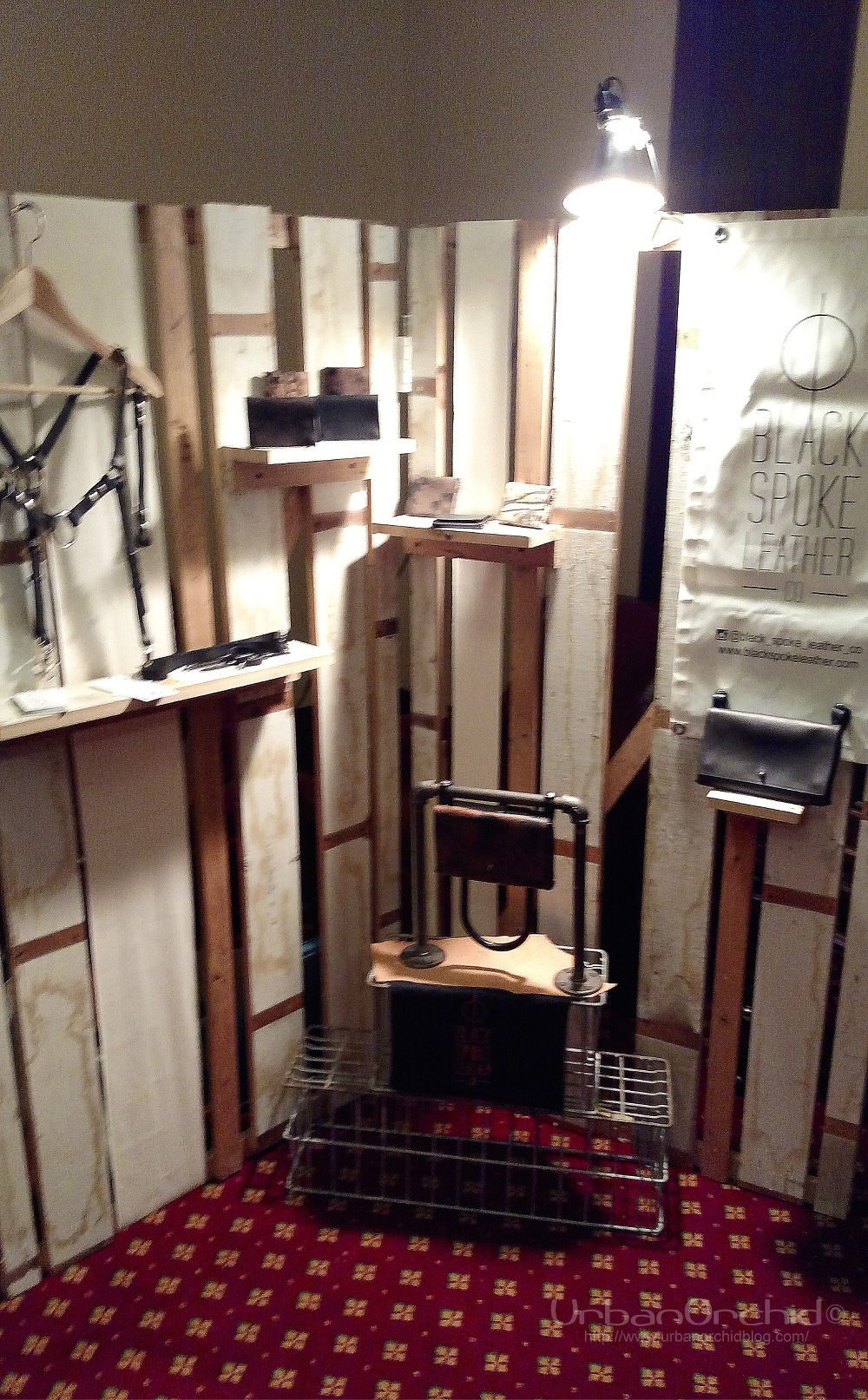 Black Spoke Leather Co pop up at LARK.