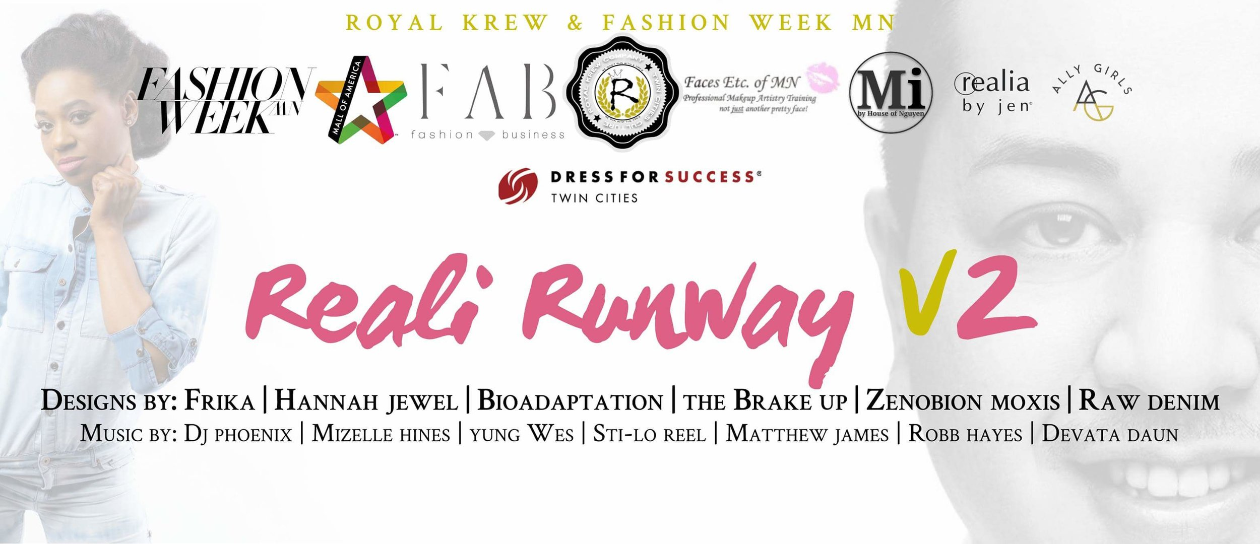 Reali Runway V2 promotional image by  Royal Krew Co .