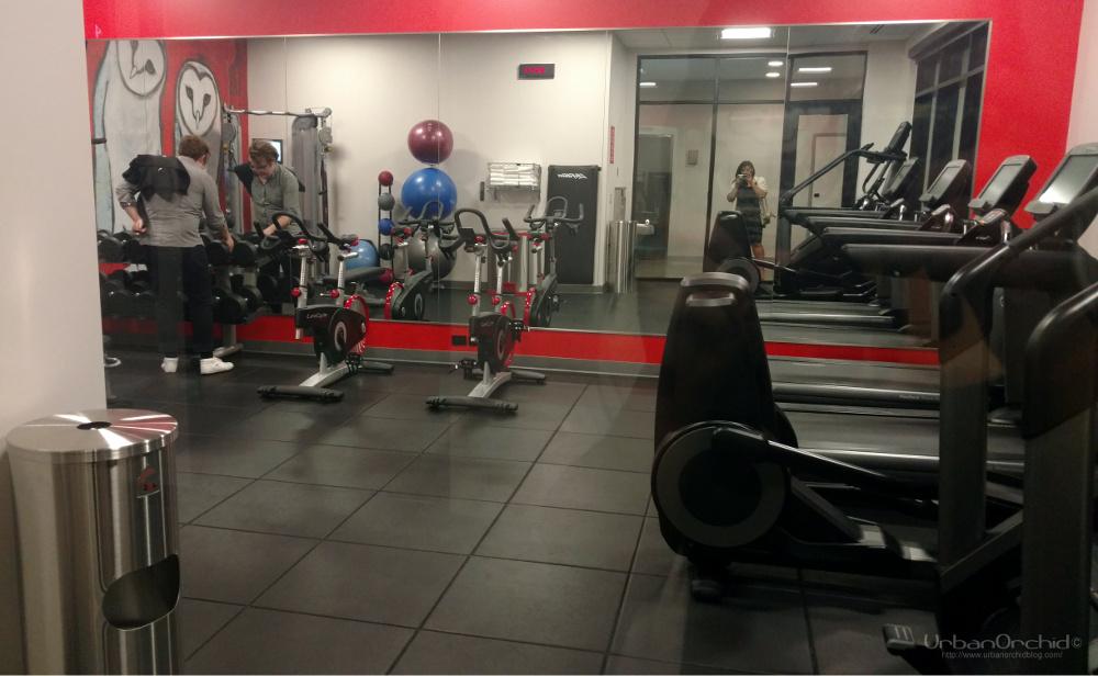 Fitness center at Radisson RED Minneapolis
