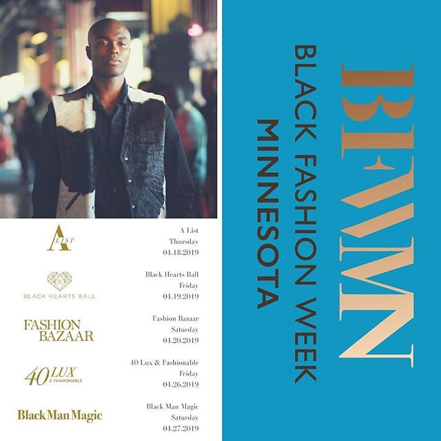 Who is excited for #BFWMN?! Just over two weeks away now. Find out more on my blog today (link in bio) and follow @blackfashionweekmn! --- #Repost from @blackfashionweekmn with @regram.app