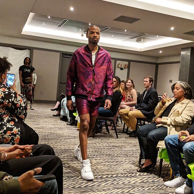 #bfwmn memory: @cho_zin1 rockin' the #blackmanmagic runway in @gildedroots! . . . . #blackfashionweekmn #mplspeople #madeinmn #aboutalook #myminnesota #mnsmallbiz #minnesotamaker #minnesotastyle #mplsstyle #mplsfashion #ElliotParkHotel #ElliotMoments #MarriottHotels #AutographCollection . . . Looking forward to @blackfashionweekmn's fall season - September 28- October 5, 2019!