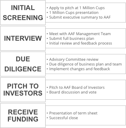AAF Investment process