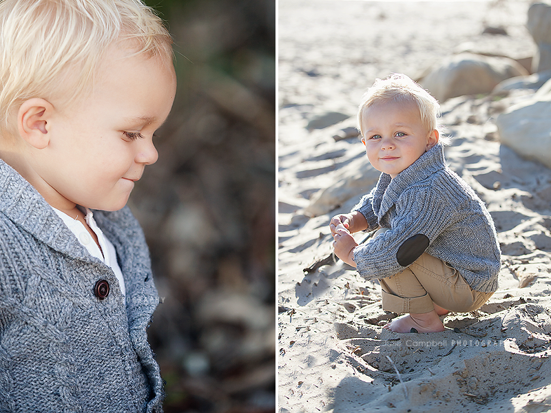 Children's portraits at the Beach