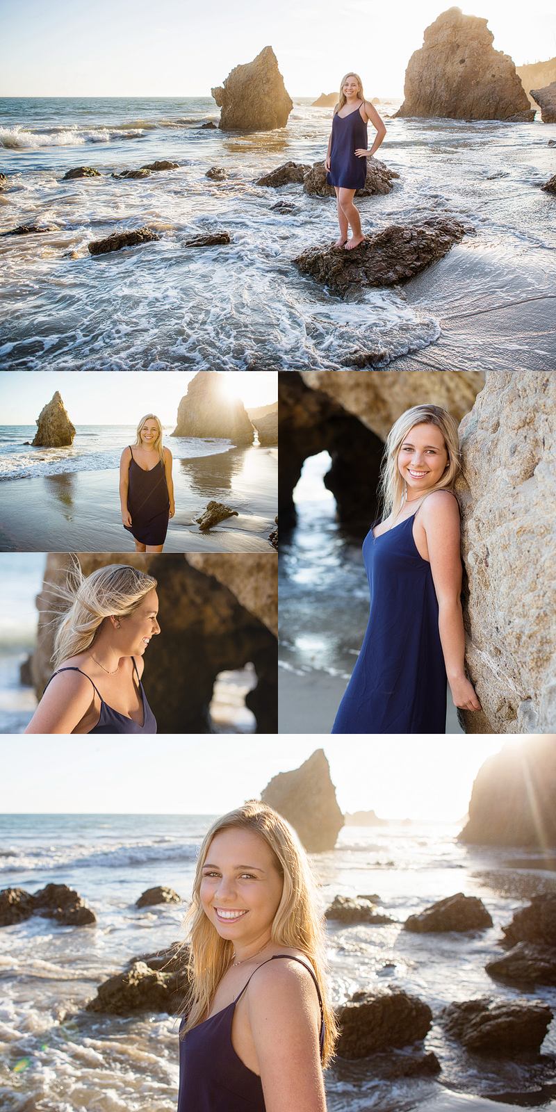 Westlake Village High school senior portraits