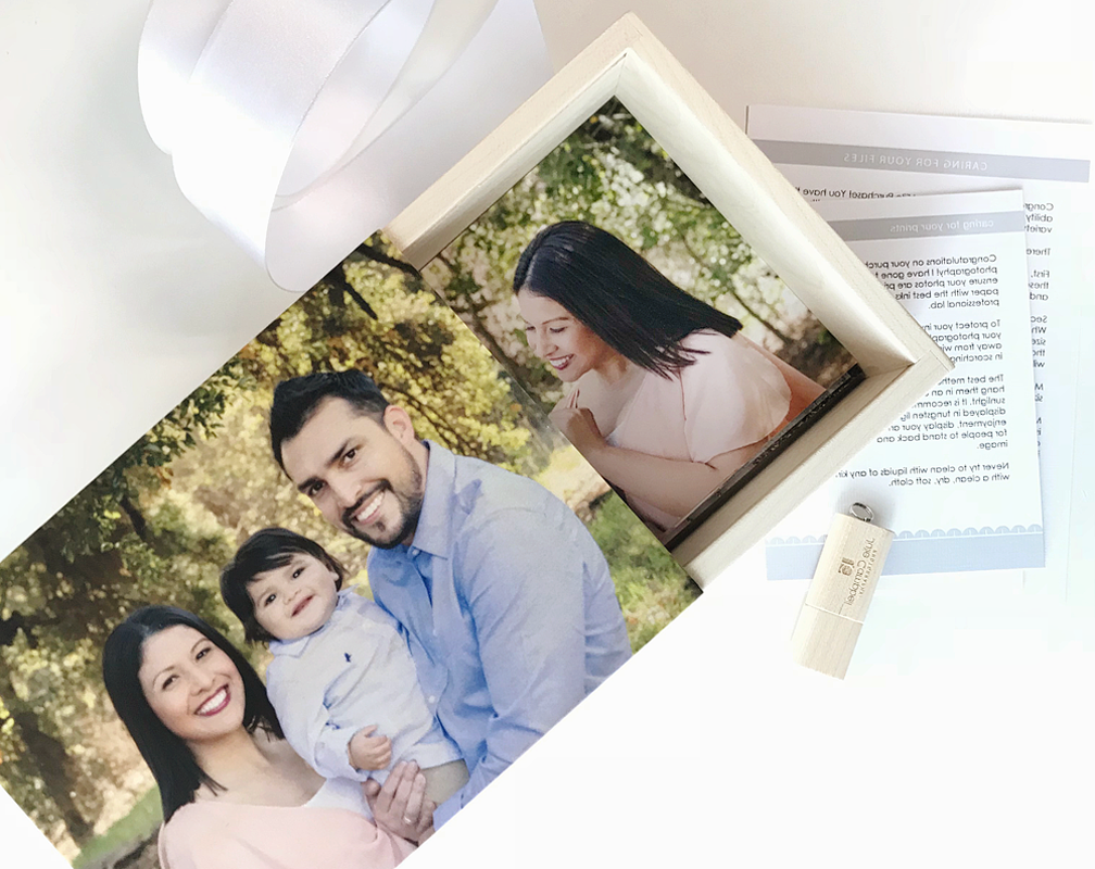 EVERYTHING - Get them ALL (every single image from your session) as Gift Prints and Digital Files presented in a keepsake wooden box with your favorite image on the cover$350