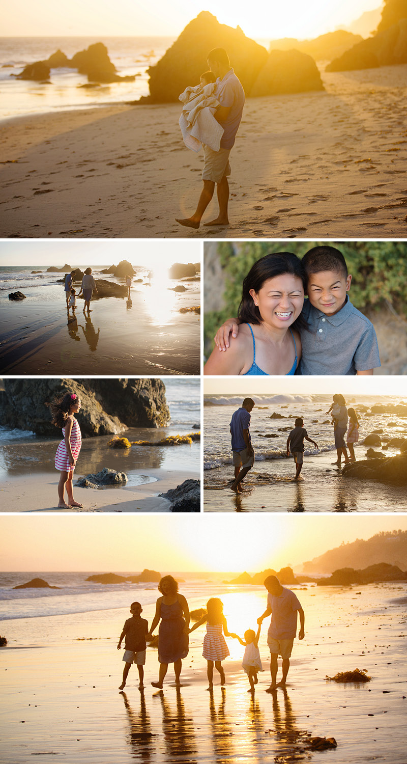 California beach photographer for families