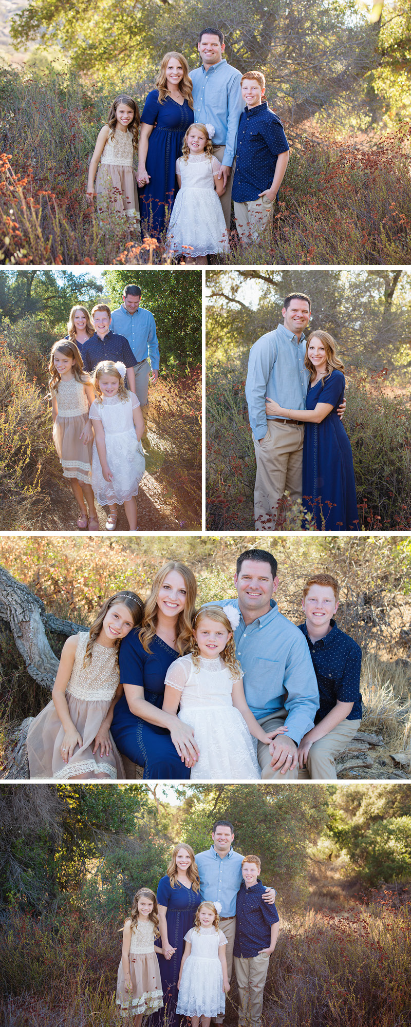 outdoor family photographer in Westlake village