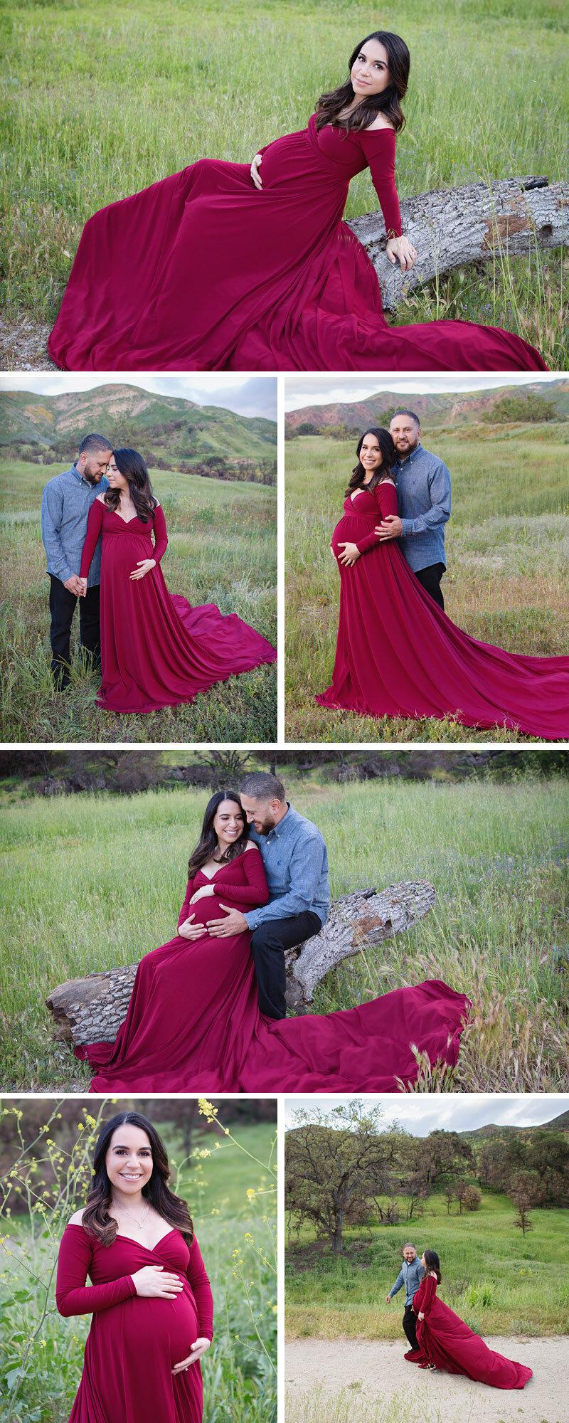Thousand oaks professional maternity photographer