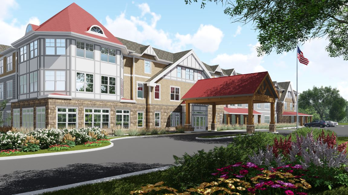 Capitol Seniors Housing Project in Shrewsbury, NJ By March Construction