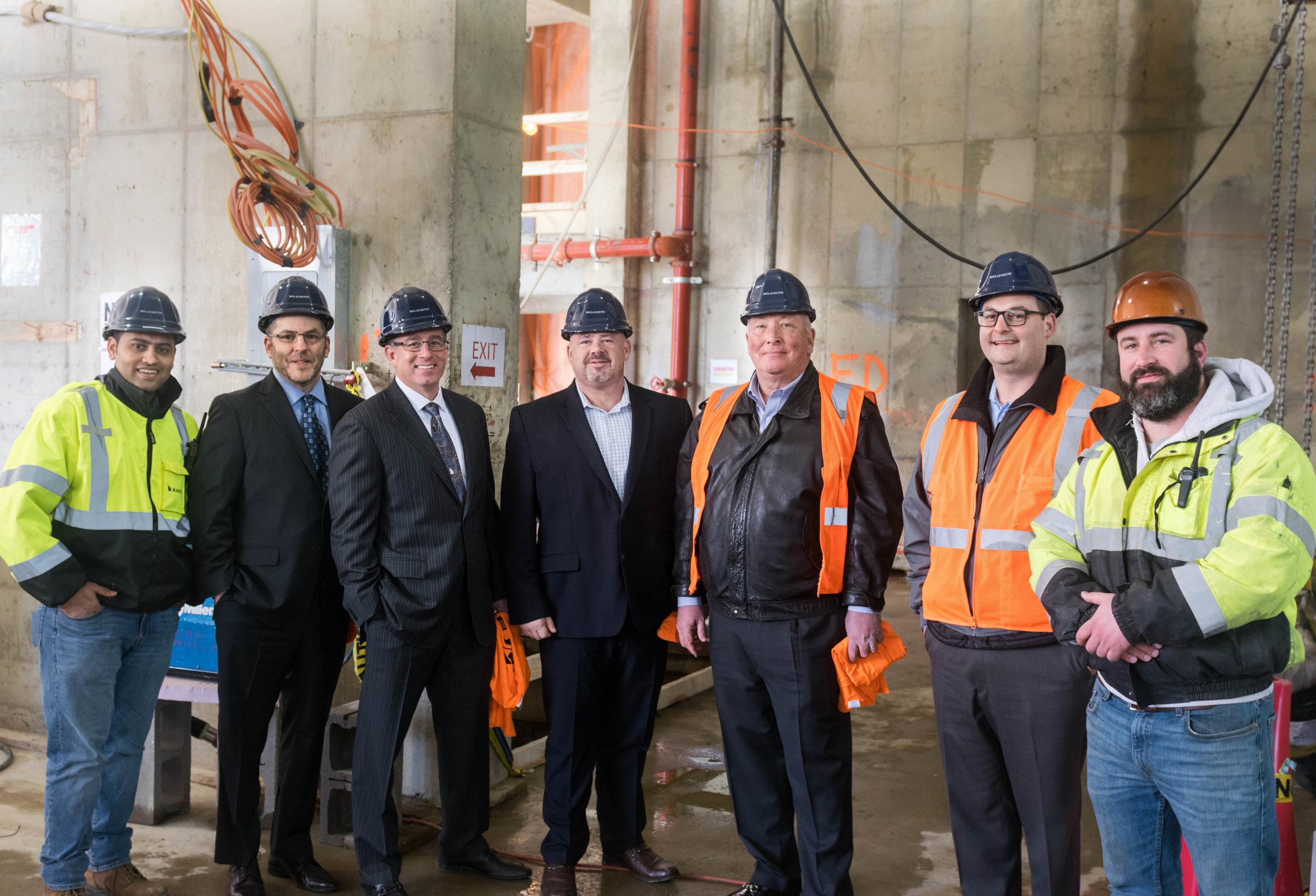 March Construction Upper-Management Team