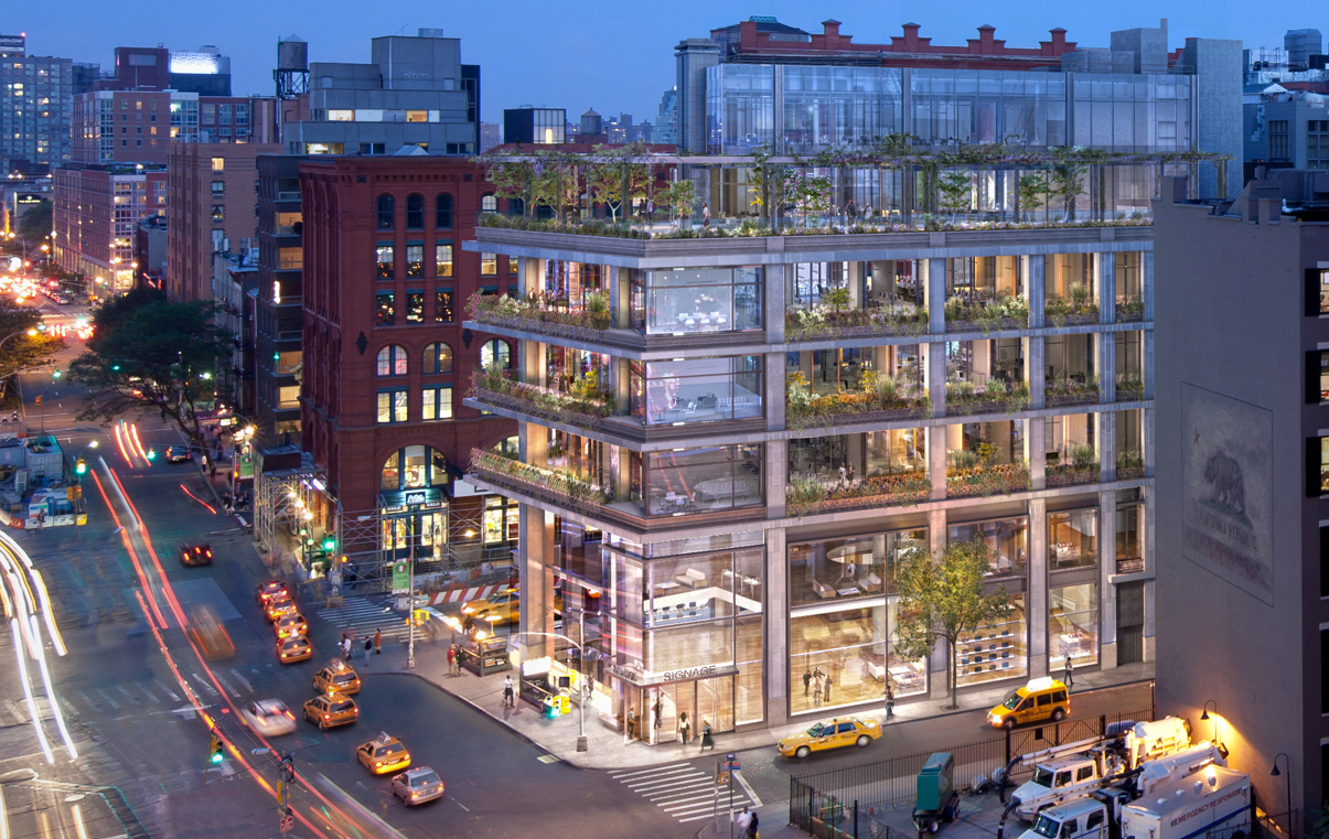 300 Lafayette St New York, NY - SoHo New York Mixed Use / Office Project by March Construction