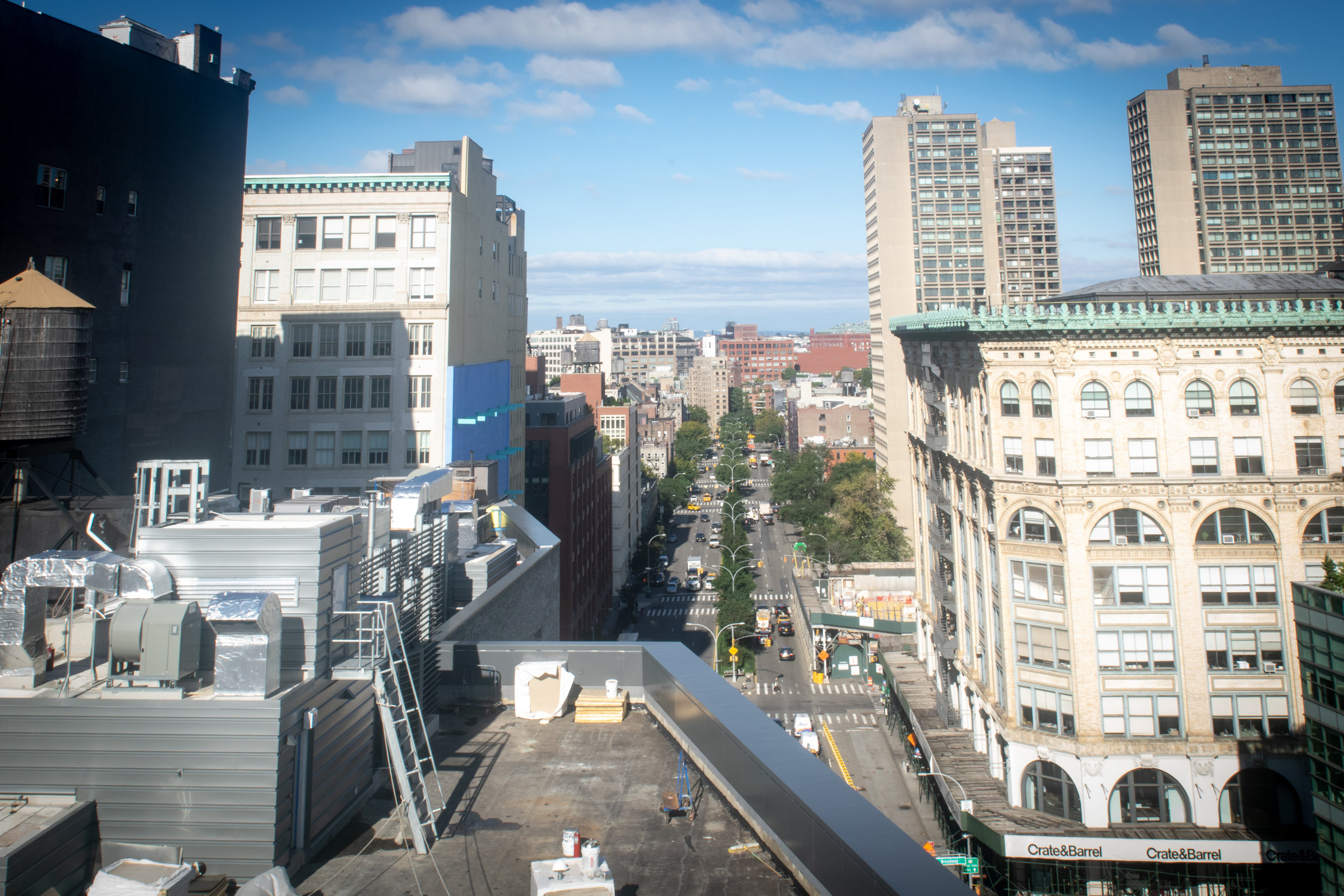 300 Lafayette St Office Rooftop View