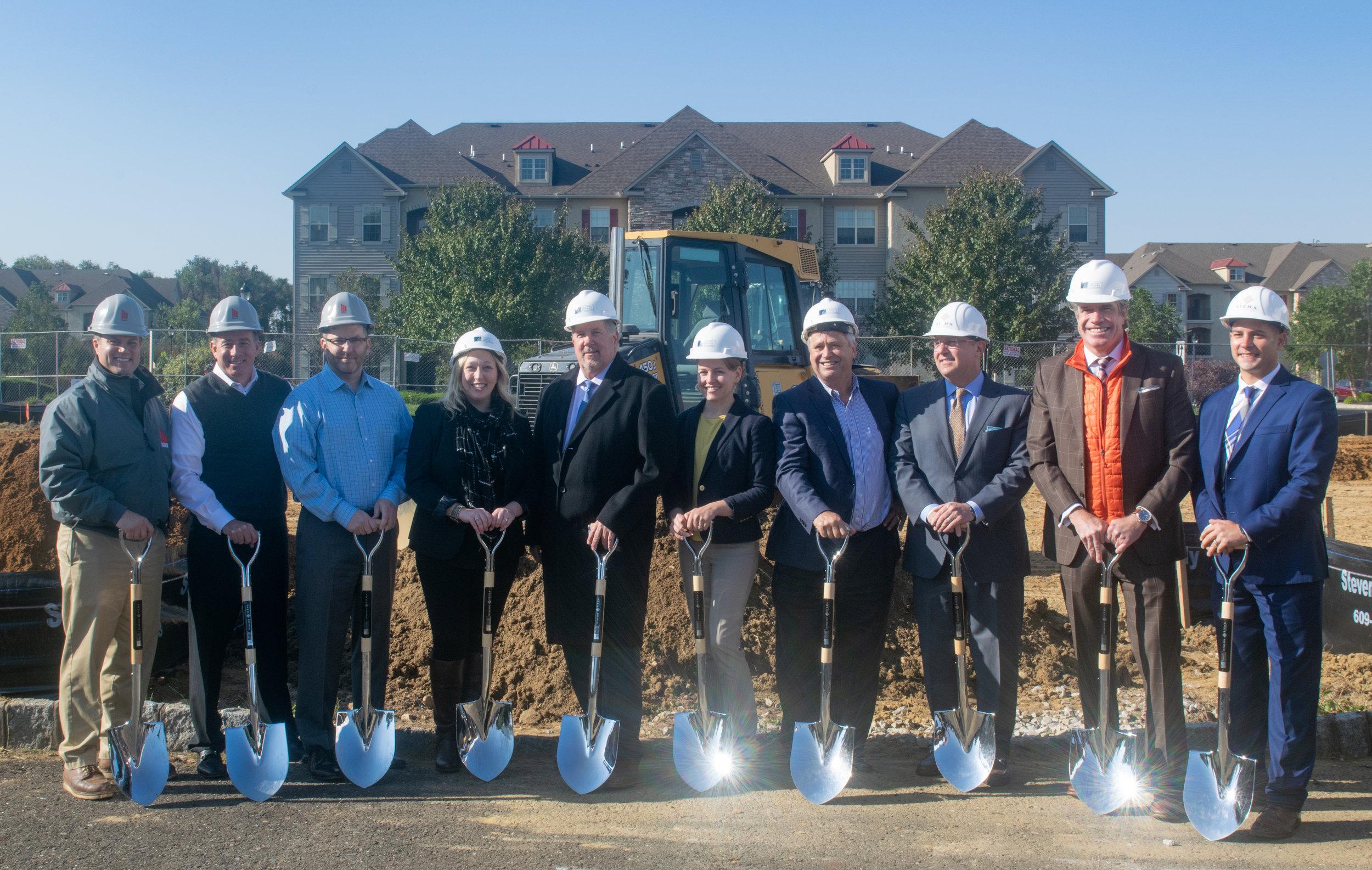 March Construction, Meyer Senior Living, Capitol Seniors Housing, & Cove