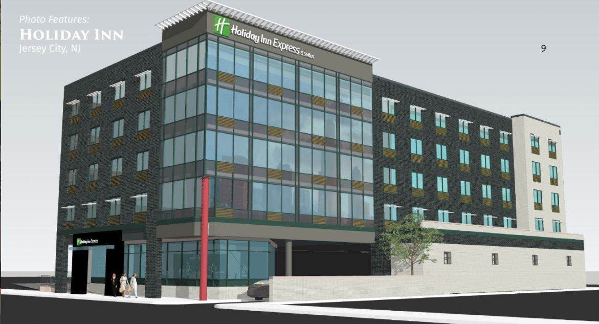 Holiday Inn Jersey City Rendering