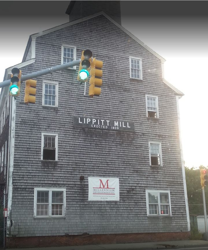 Lippitt Mill - Rhode Island - Before Photo