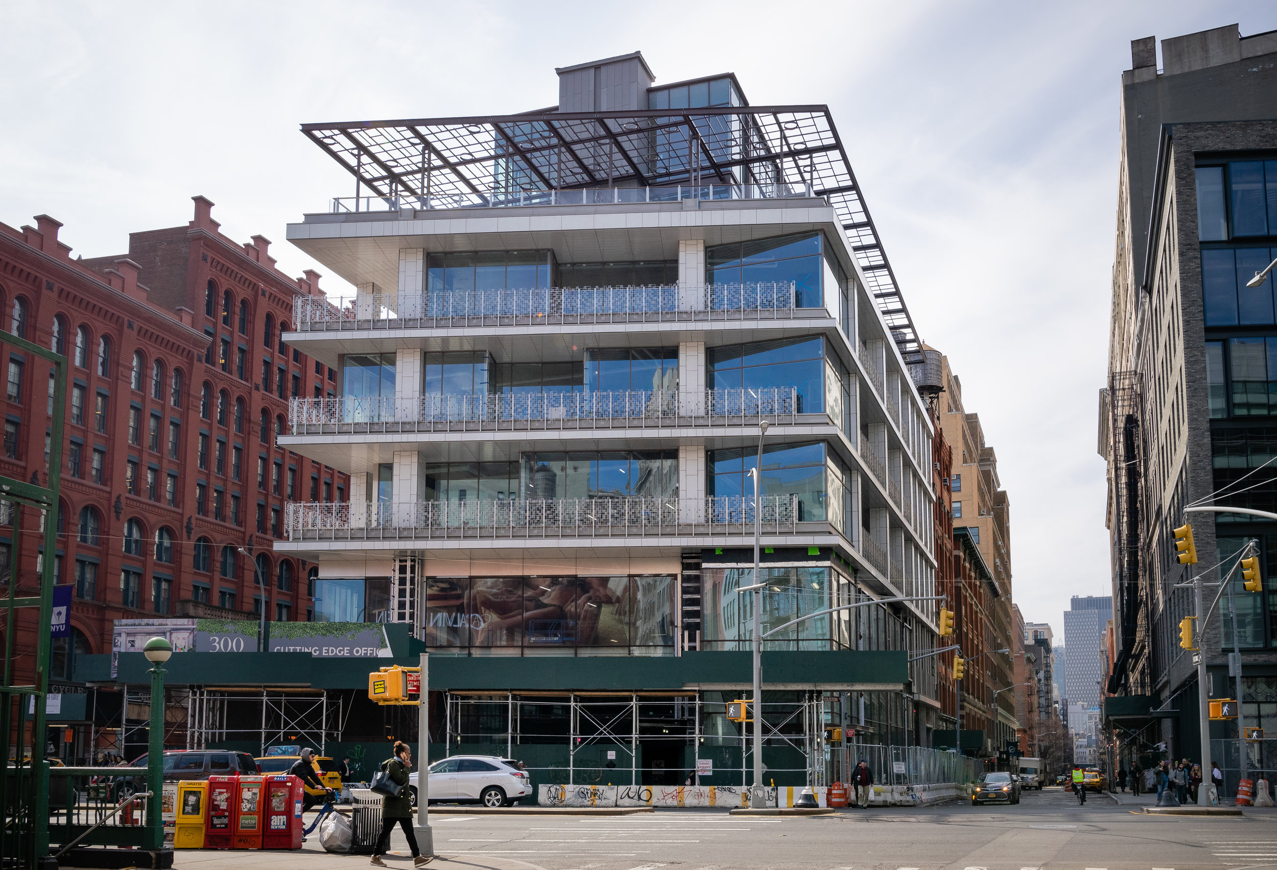 300 Lafayette St Soho Manhattan Project Update Built by March Associates Construction Photos by Briana Joelle Samman
