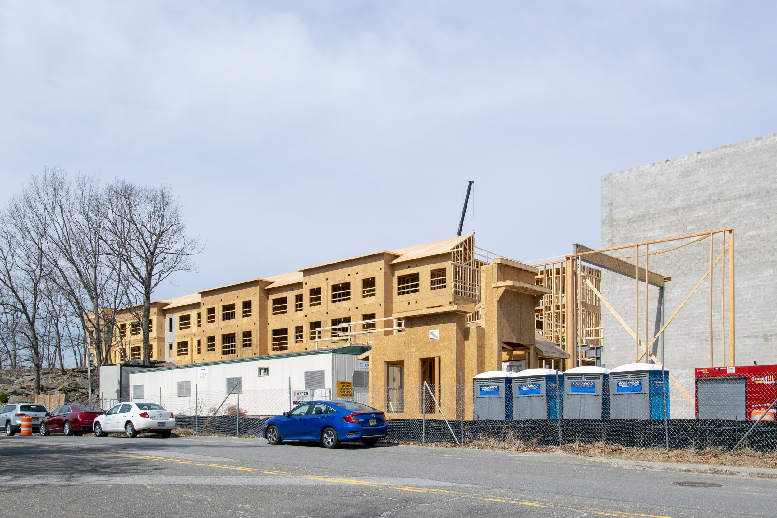 Carraway Apartments by Toll Brothers Harrison NY Built by March Construction