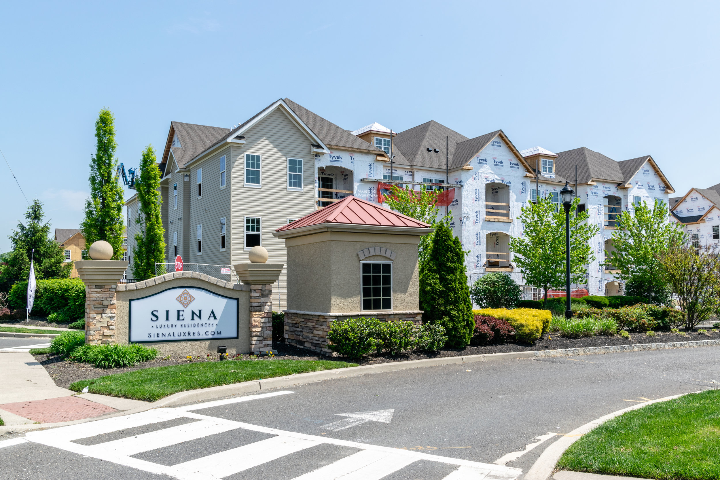 Siena Luxury Residences Senior Housing Cinnaminson, NJ Built by March Construction