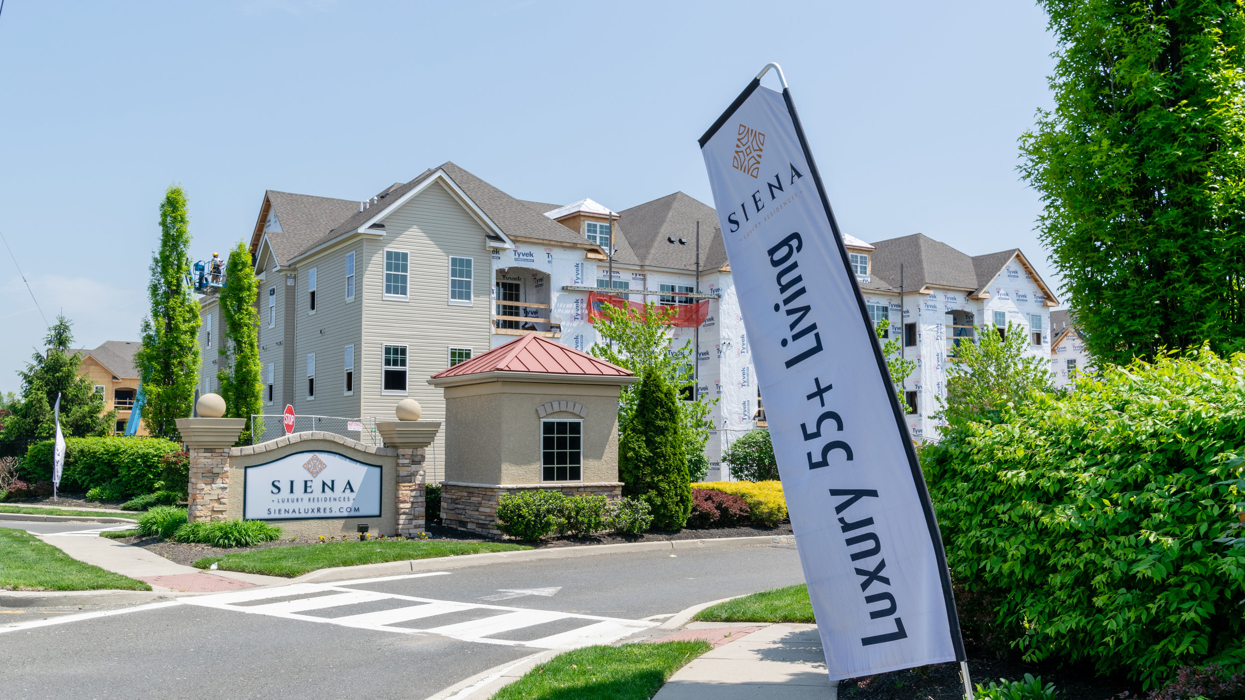 Siena Luxury Residences Senior Housing Cinnaminson, NJ Built by March Construction Luxury 55+ Living