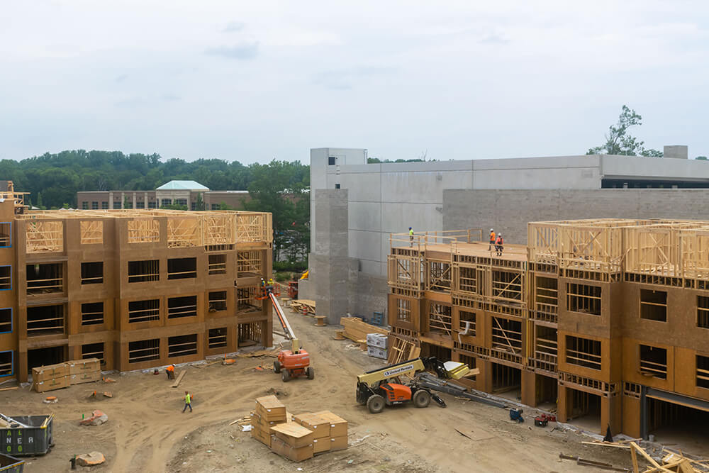 Carraway Apartments Construction Project in Harrison, New York