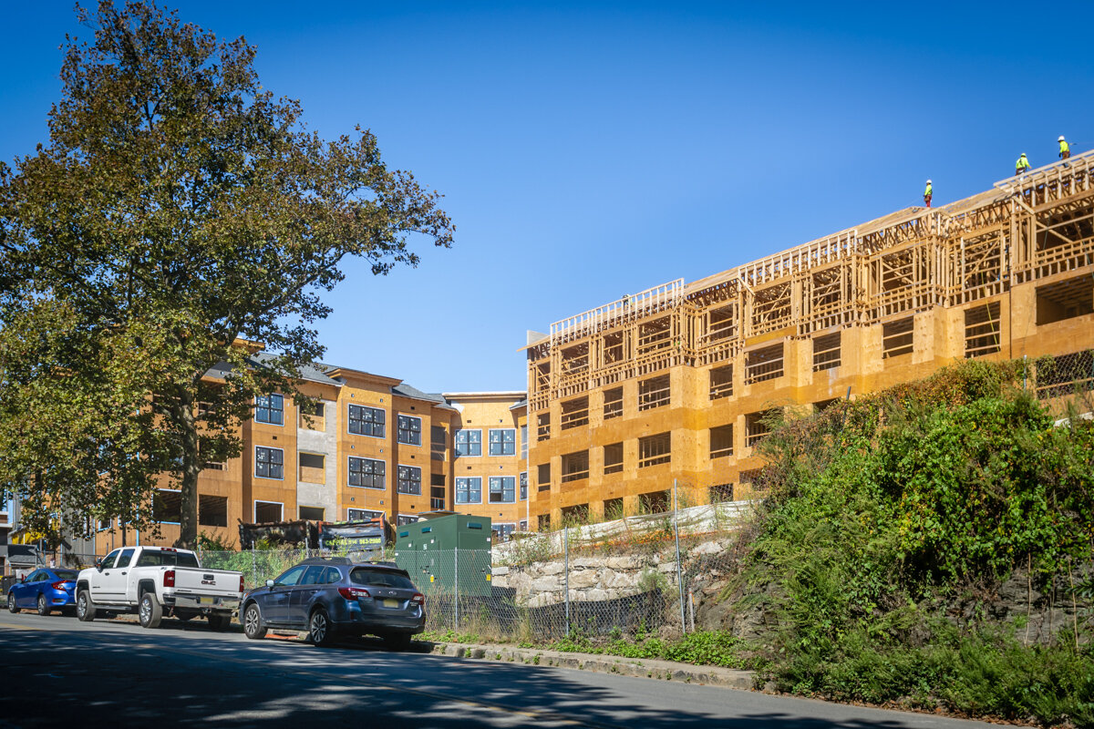 Carraway Apartments Under Construction in Harrison, NY