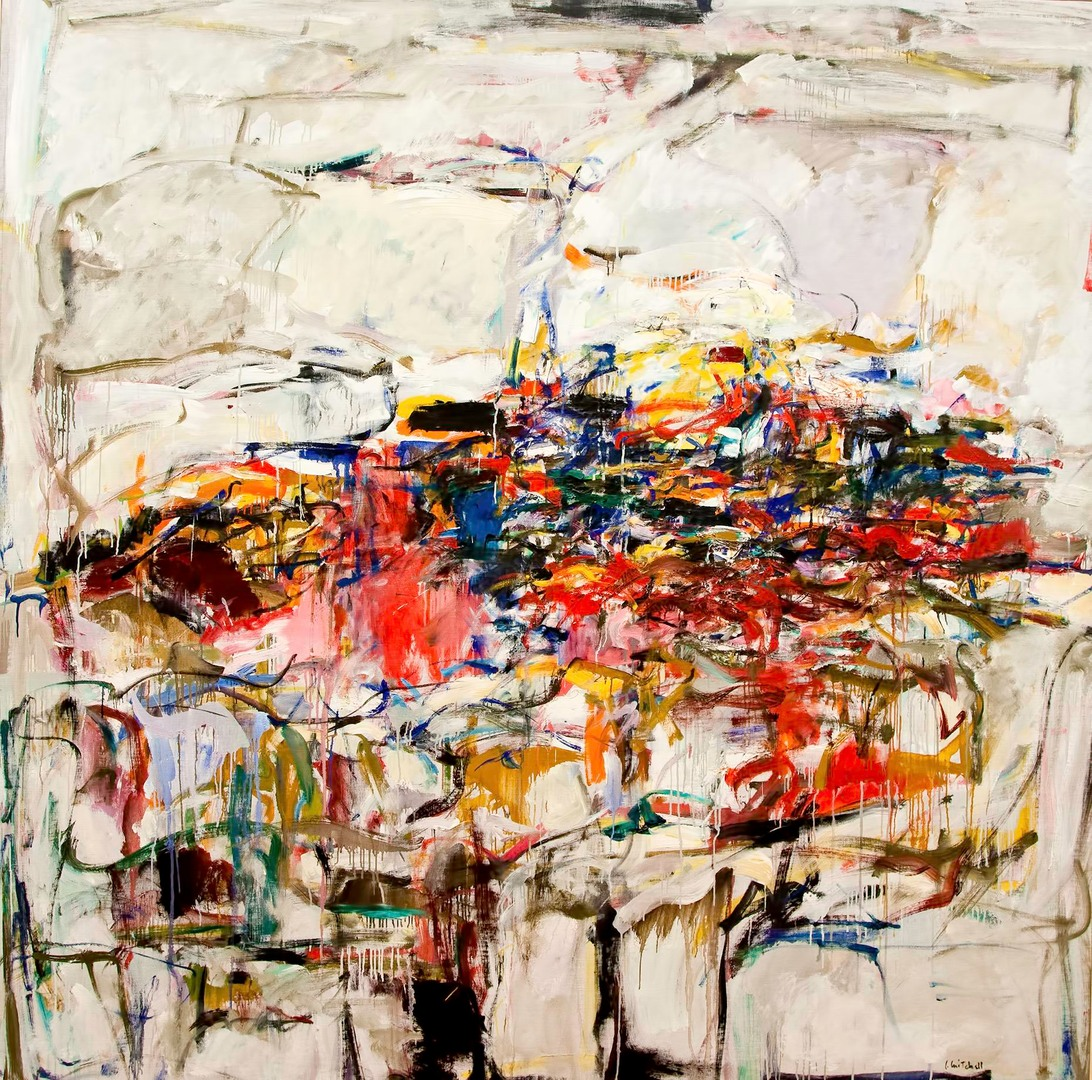 """City Landscape,"" Joan Mitchell. (1955)"