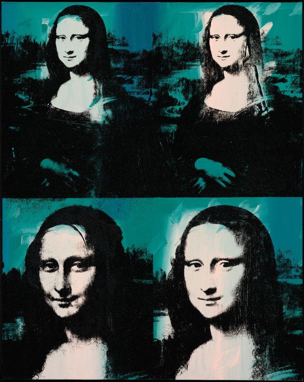 Four Mona Lisas,  1976. Andy Warhol