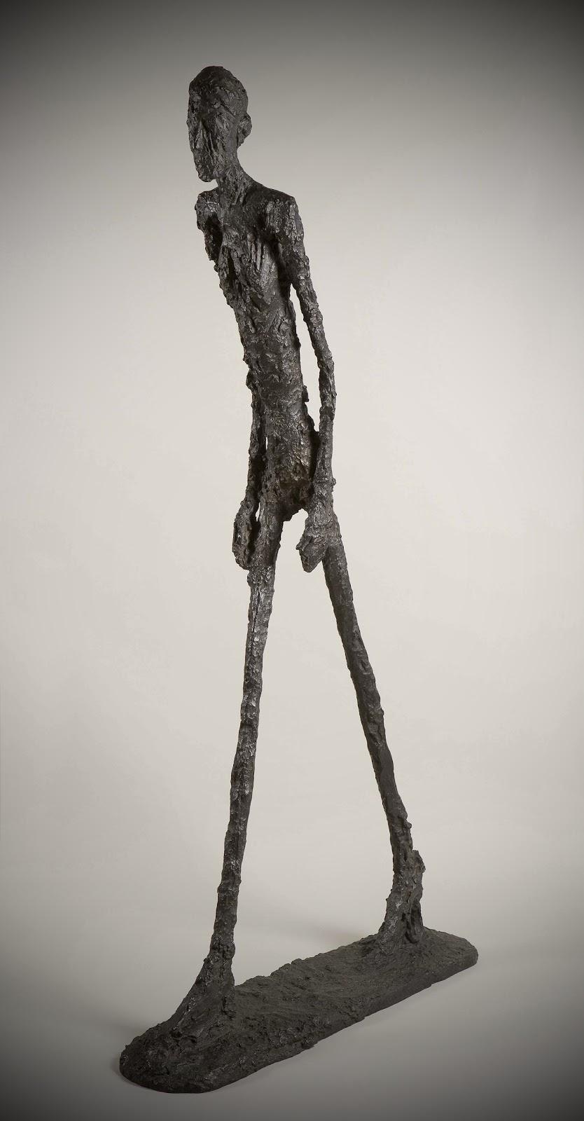 L'Homme Qui Marche,  1961. Alberto Giacometti