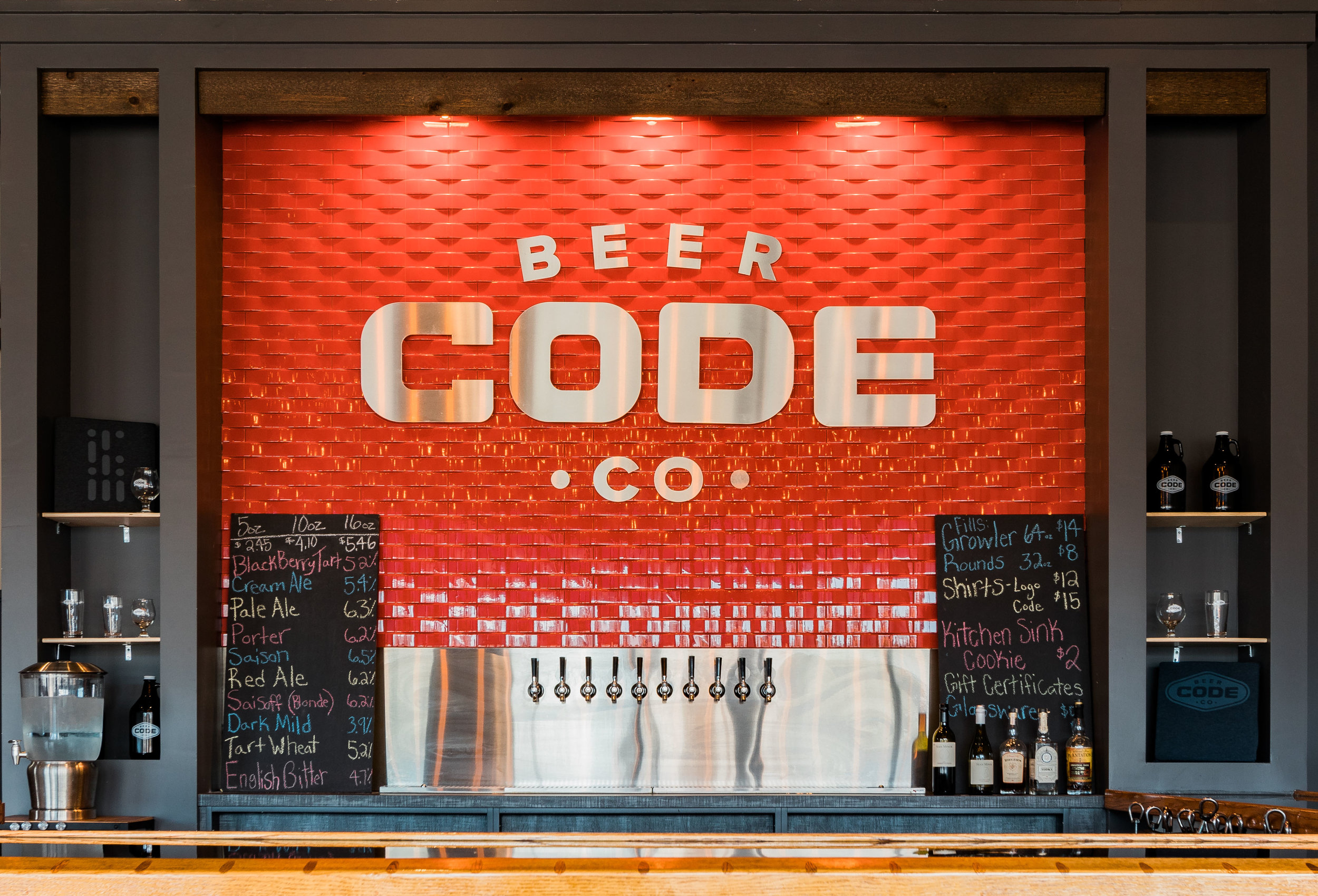 CODE BEER CO.  Click Photo for more Details