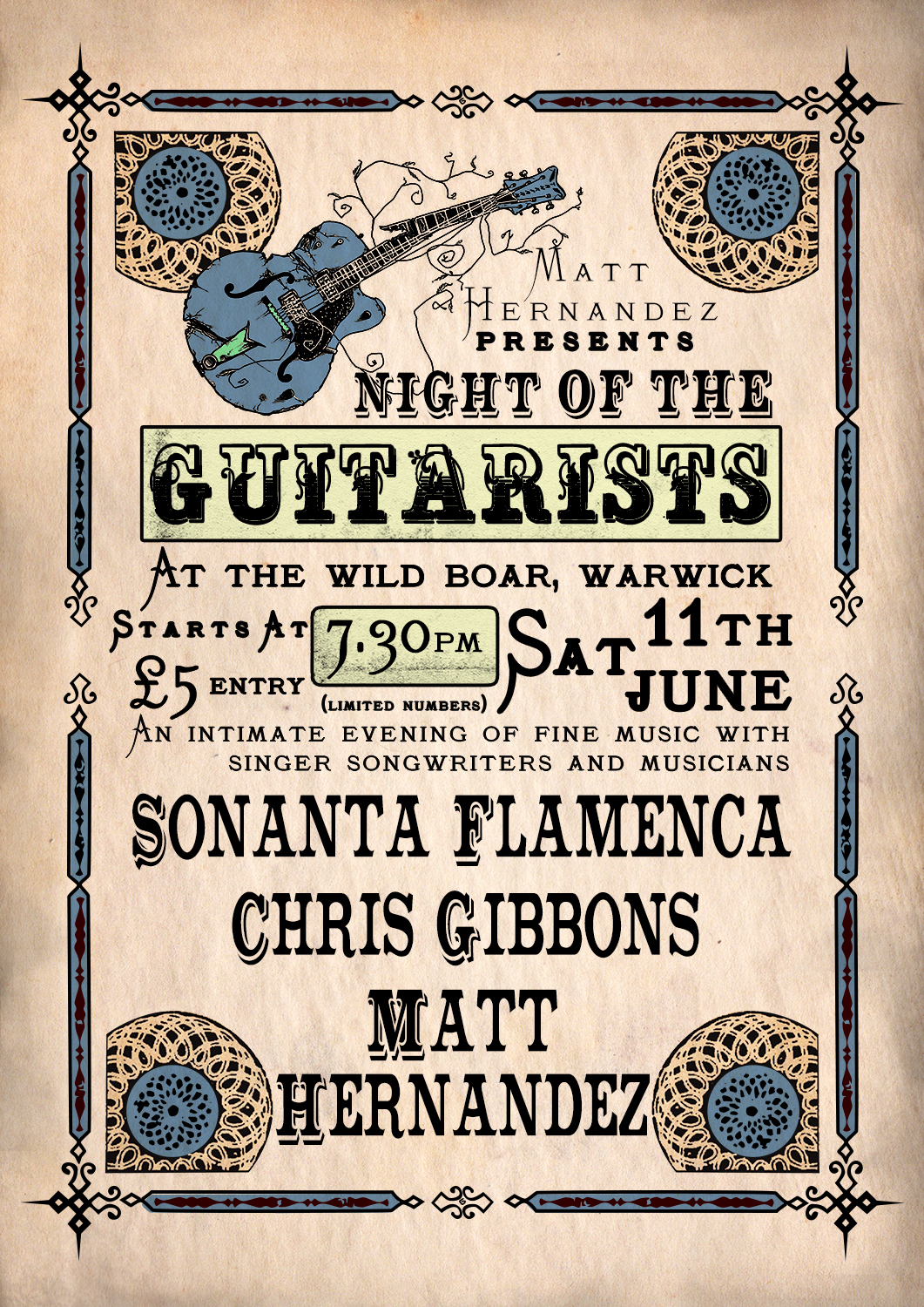 Night of the musicains poster